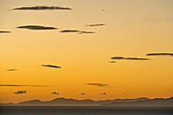 New Zealand, Golden Bay, Puponga, dusk in Golden Bay - SHF001481