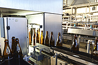 Germany, bottling plant of a brewery - SCH000293