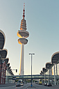 Germany, Hamburg, view to television tower and trade fair buildings - MSF004053