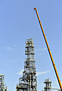 Germany, Saxony-Anhalt, inspection work in an oil refinery - SCH000307