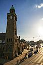 Germany, Hamburg, St Pauli, Clock tower - KRPF000582