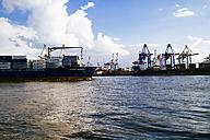 Germany, Hamurg, Container terminal Burchardkai - KRP000586