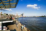 Germany, Hamburg, View of harbour - KRPF000607