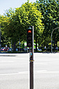 Germany, Hamburg, Dammtor, bicycle traffic light - VI000277