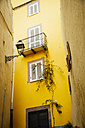 Italy, Sarinia, Bosa, Old town, Alley, House, Yellow facade - MBEF001043