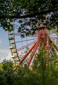 Germany, Berlin, Treptow, Plaenterwald, former Spreepark, Big wheel - BIG000021