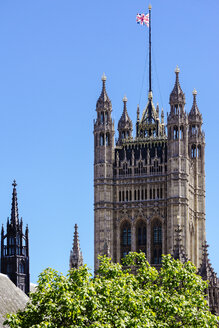 United Kingdom, England, London, Westminster, Victoria Tower, Part of Palace of Westminster - WEF000170