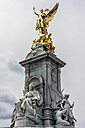 United Kingdom, England, London, Westminster, Victoria Monument, Statues of Queen Victoria and Goddess of Victory - WEF000179