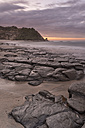 New Zealand, South Island, asman, Kahurangi Point, dusk at the beach - SHF001517