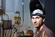 Portrait of a welder - LYF000141