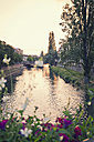 France, Strasbourg, view from Rue du Marie Kuss to River Ill - MEMF000272