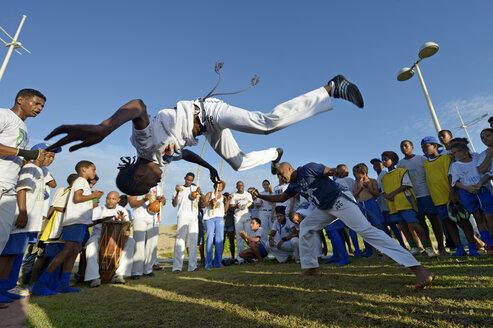 South America, Brazil, Bahia, Salvador da Bahia, Capoeira - FLK000364