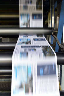 Printing of newspapers in a printing shop - SCH000337