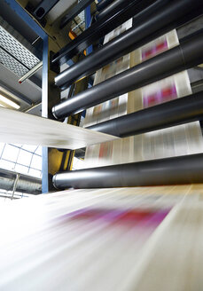 Printing of newspapers in a printing shop - SCH000339