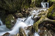 Germany, Bavaria, Allgaeu Alps, Hinanger Waterfall - STSF000432