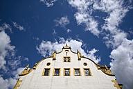Germany, Saxony, Freiberg, Barock facade of townhall - EL001156