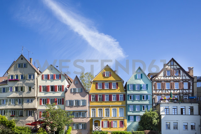 Germany, Baden-Wuerttemberg, Tuebingen, Row of houses - LVF001564
