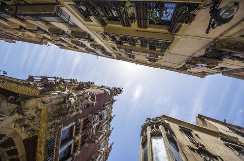 Spain, Barcelona, Palau de la Musica Catalana and other houses - THAF000540