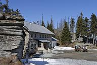 Germany, Bavaria, Lower Bavaria, Bavarian Forest, Dreisessel area, Dreisessel house, Mountain inn - LB000802
