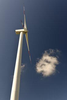 Germany, Saxony-Anhalt, Wind turbine - LYF000179