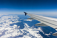 Aerial view, Flightplane over the Alps - AMF002542