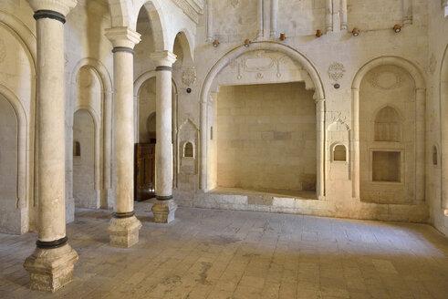 Turkey, Eastern Anatolia, Agri Province, Dogubeyazit, interior of Ishak Pasha Palace, Audience hall - ES001259