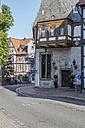 Germany, Lower Saxony, Goslar, hotel Brusttuch in old town - PVC000030