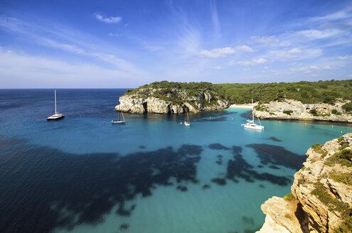 Spain, Balearic Islands, Menorca, Macarella, Cala Macarelleta - SMA000229