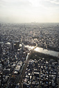 Japan, Tokyo, view towards Asakusa and Sumida river - FLF000451