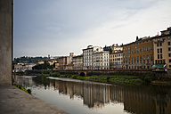 Italy, Tuscany, Florence, view to shorelines of Arno River - SBDF001027