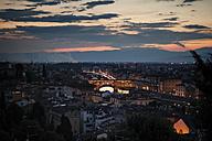 Italy, Tuscany, Florence, Ponte Vecchio - SBDF001077