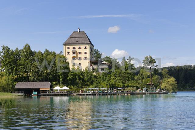 Austria, Salzburg State, Fuschlsee Lake, Fuschl am See, Fuschl Castle - SIEF005673