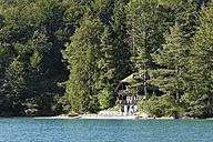 Austria, Salzburg State, Fuschl am See, Lake Fuschlsee, House - SIE005686