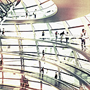 Germany, Berlin, dome of the Reichstag - SE000799