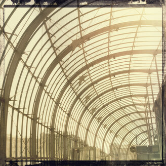 France, Strasbourg, glass building at central station - MEM000324