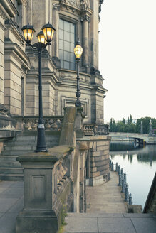 Germany, Berlin, part of facade of Berlin Cathedral at Spree River - MEMF000340