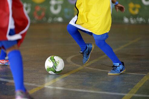 Brazil, Rio de Janeiro, Favela Morro dos Prazeres, soccer tournament - FLK000377