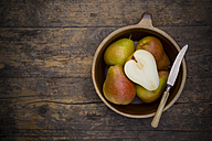 Organic pears, Trout pears, Pyrus Communis - LVF001680