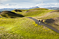 Iceland, Skutustadir, Krafla-volcanic area, pseudocrater near Myvatn - FC000310