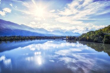 Austria, Carinthia, river Drau near Hollenburg - DAWF000091
