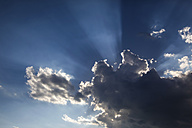 Germany, Clouds and sunbeams - JTF000566