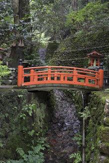 Japan, Kurama, Red bridge - FLF000473