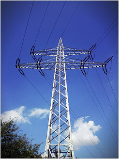 Power pylon, Minden, Germany - HOHF000927