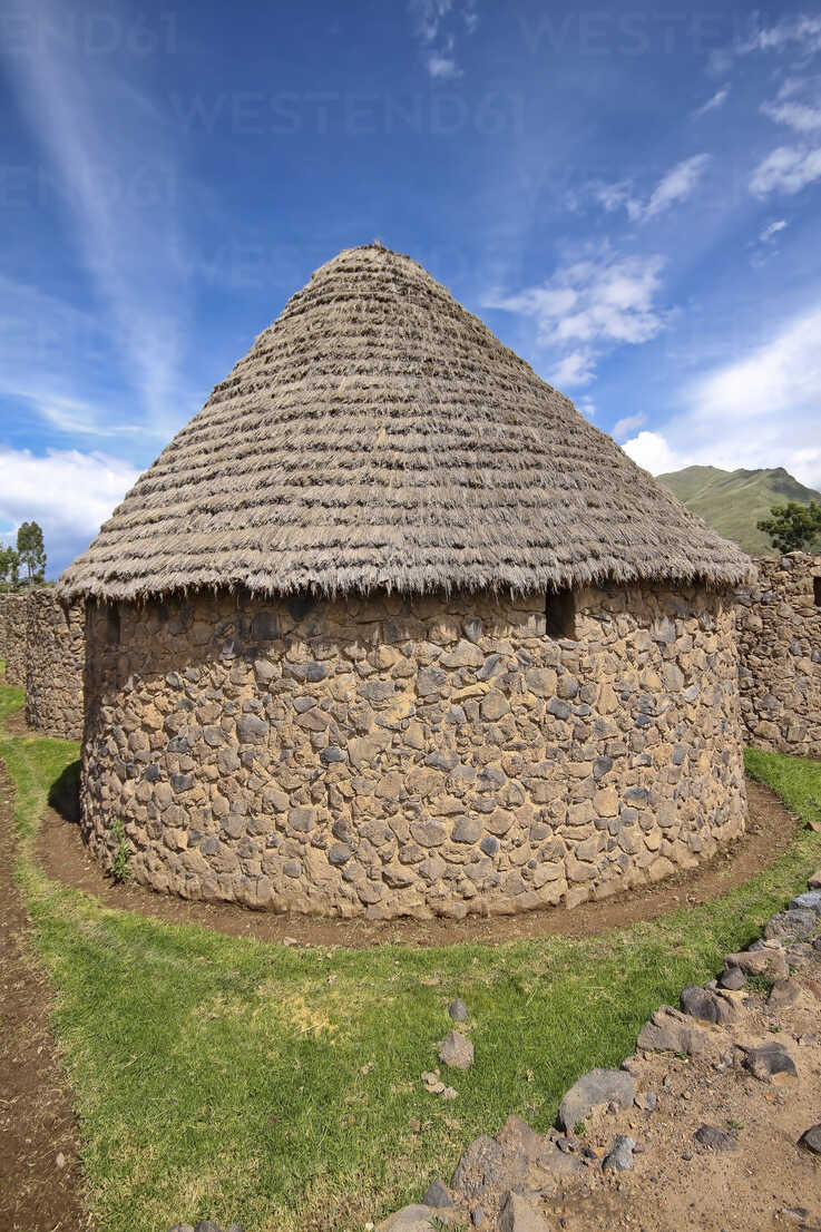 South America, Peru, View of the Temple of Wiracocha in Raqch'i, Storehouse - KRPF000686 - Kristian Peetz/Westend61