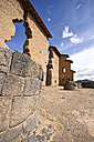 South America, Raqch'i, View of the Temple of Wiracocha - KRP000688
