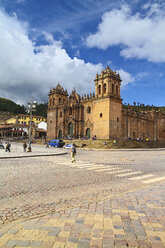 South America, Peru, Cusco, Cathedral - KRP000705