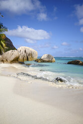 Seychelles, La Digue Island, Anse Source D'Argent, Beach - KRPF000730