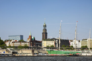Germany, Hamburg, Port of Hamburg, St. Pauli Piers - KRPF000992