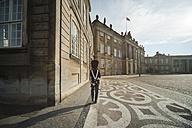 Denmark, Copenhagen, Amalienborg Castle, Guard - PA000759