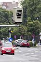 Austria, Upper Austria, Linz, Red light camera - EJWF000475